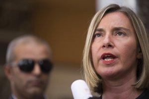 Šéfka európskej diplomacie Federica Mogheriniová.
