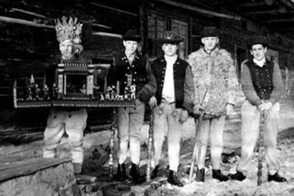 Babínski betlehemci v roku 1962.