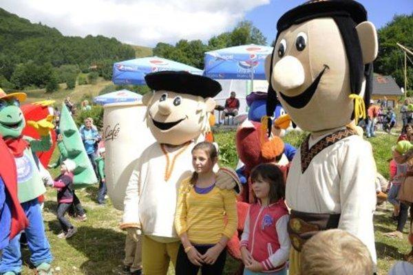 Jedným z víkendových lákadiel bude Festival maskotov na Donovaloch