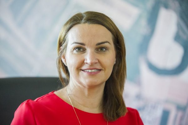 Šéfka Slovenského pozemkového fondu (SPF) Adriana Šklíbová.