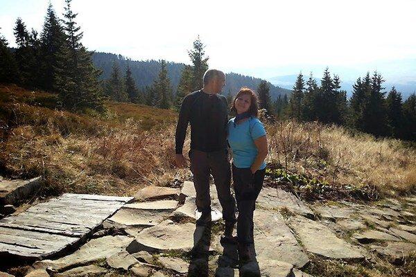 Erika Jurinová s manželom Pavlom.