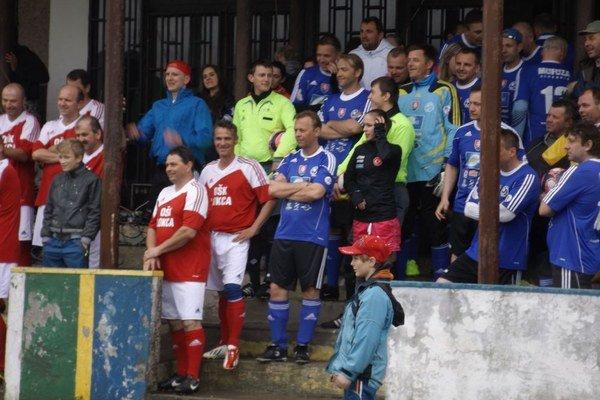 Hlavným bodom programu bol zápas hornooravských internacionálov proti MUFUZE.