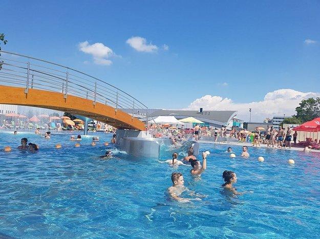 Letné kúpalisko Relax v Trnave.