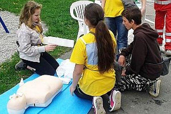 Mladí záchranári z Trstenej.
