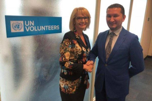 Stretnutie s Toilym Kurbanovom na pôde OSN v New Yorku.