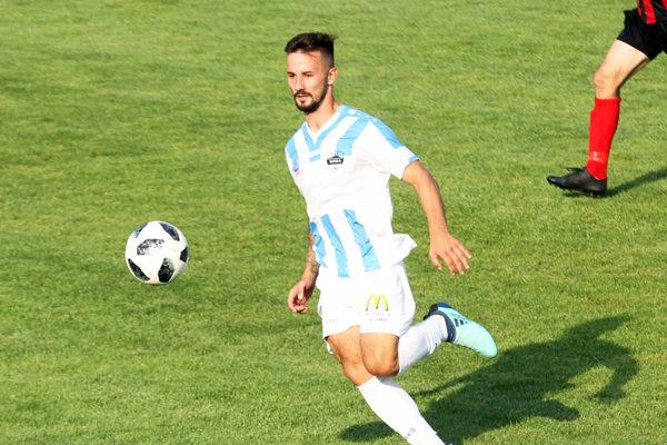 Tomáš Vestenický si po troch týždňoch znovu obliekol dres FC Nitra v sobotu v Dolných Obdokovciach.