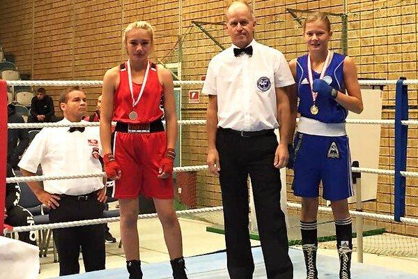 Jessica Triebeľová (vpravo)si vybojovala ďalší skvelý výsledok.