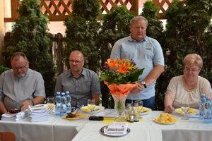 Peter Humeník (zľava), Miroslav Buraľ, Jaroslav Zelinka, Ivana Strakošová.