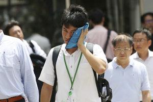 Teploty v Japonsku sa vyšplhali nad 40 stupňov.