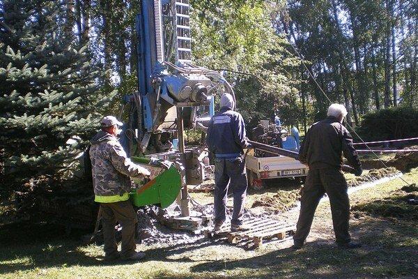 Vŕtanie. Najnáročnejšia časť stavebnej akcie.