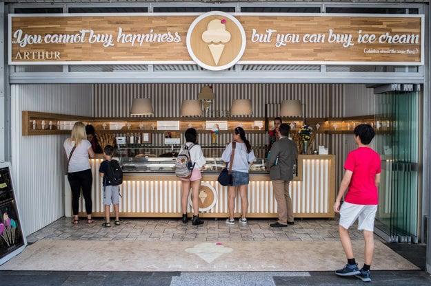 Zmrzlináreň Arthur Ice Cream je v Bratislave od roku 2015.