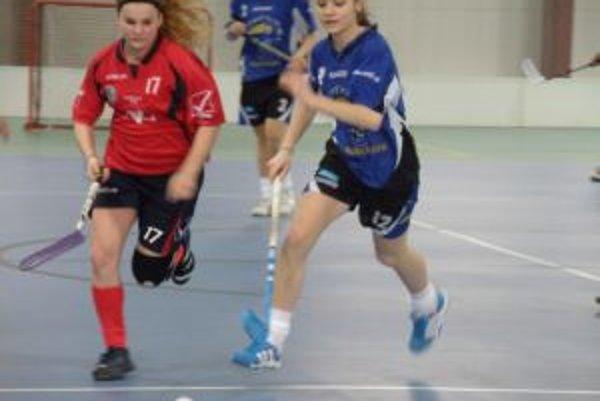 Hráčky Pruského (v modrom)v druhom zápase s Nemšovou ťahali za kratší koniec.