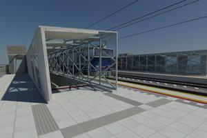 Východ z podchodu na novom termináli Lamačská brána.