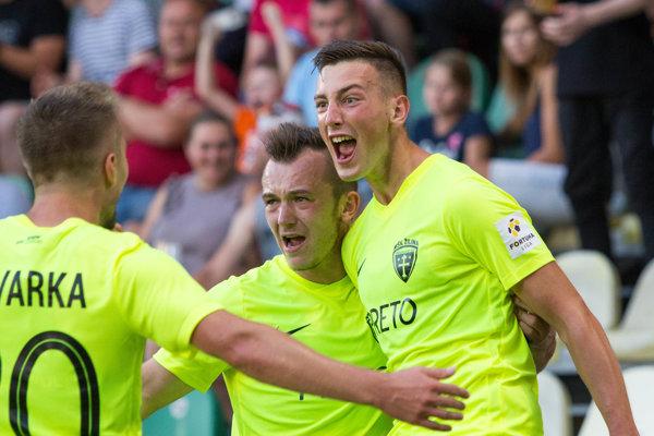 Róbert Boženík pri svojej premiére strelil víťazný gól.