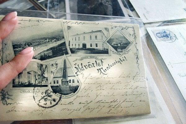 Táto pohľadnica Tvrdošína patrí k vzácnostiam. Pochádza z roku 1898.