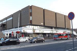 Bývalé Tesco v centre Nitry.