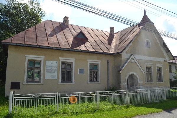 Budova bývalej žandárskej stanice.