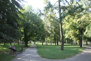 Park je chráneným areálom.