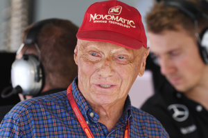 Legenda F1 Rakúšan Niki Lauda na snímke z 30. júla 2016.