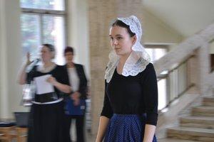 Na vernisáži výstava Krása pre ženu stvorená bola aj módna prehliadka.