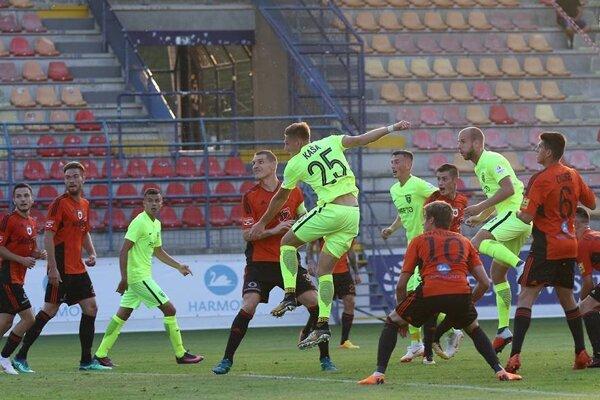 Jediný gól Žiliny v Ružomberku strelil Filip Kaša.