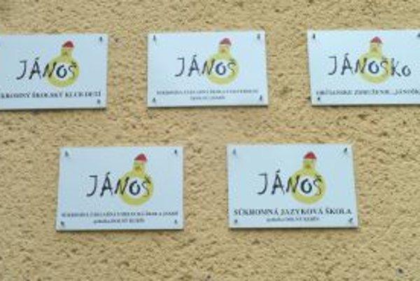 Súkromné centrum voľného času Jánoš by ste teraz na ulici Obrancov mieru hľadali márne.