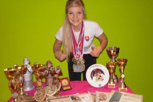 Sympatická Oravčanka s početnou medailovou zbierkou.
