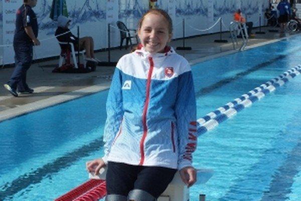 Dolnokubínska plavkyňa si vychutnávala majstrovstvá aj mimo bazéna.