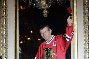 Hokejová legenda Stan Mikita.