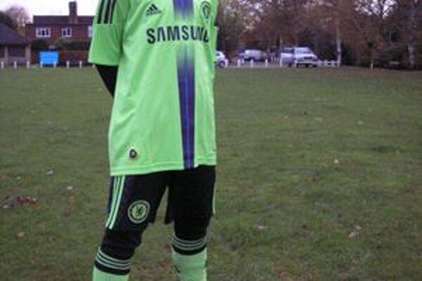 Dominik Topoľský v drese Chelsea.