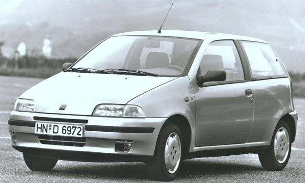 Fiat Punto v roku 1993