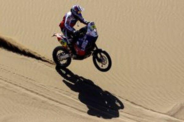 Štefan Svitko na Rely Dakar.