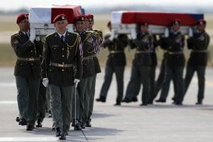 Pieta za českých vojakov, ktorí zahynuli v Afganistane.