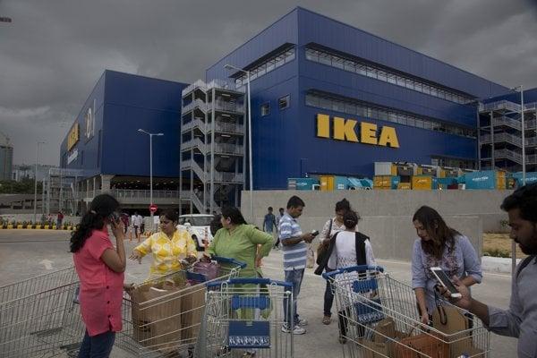 Ikea expanziu v Indii odštartovala otvorením obrovského obchodu na okraji Hajdarabádu.
