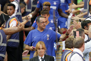 Maurizio Sarri, tréner Chelsea.
