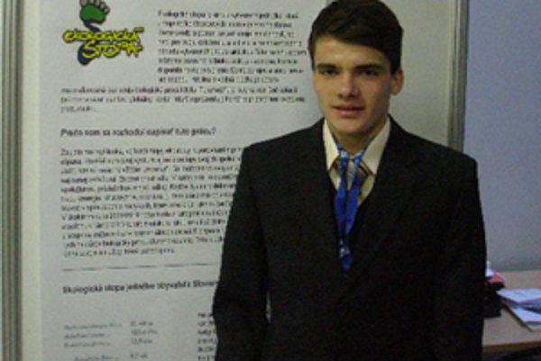 Martin Papala vo finále súťaže.