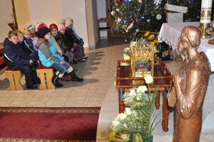 Relikvia sv. Cyrila v habovskej farnosti.