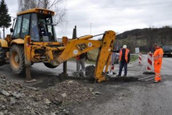 Nová kanalizácia a chodníky budú stáť viac ako 260-tisíc eur.