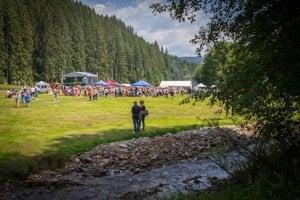 V areáli Lesníckeho skanzenu vo Vydrovskej doline blízko Čierneho Balogu. Ilustračné foto.