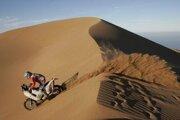 Štefan Svitko sa úspešne prediera medzi najlepších motocyklistov Rely Dakar.