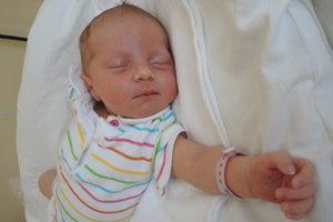 Katarnína Chromíková (3570 g, 49 cm) sa narodila 7. augusta Márii a Petrovi z Trenčína. Doma už majú dcérku Majku.