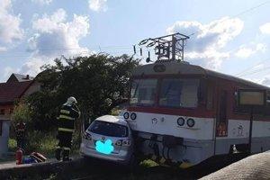 Nehoda v Turzovke Vyšnom konci smer Veľké Rovné.