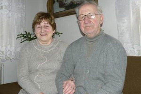 Manželia Čajkovci si v láske a vzájomnom porozumení žijú už polstoročie.
