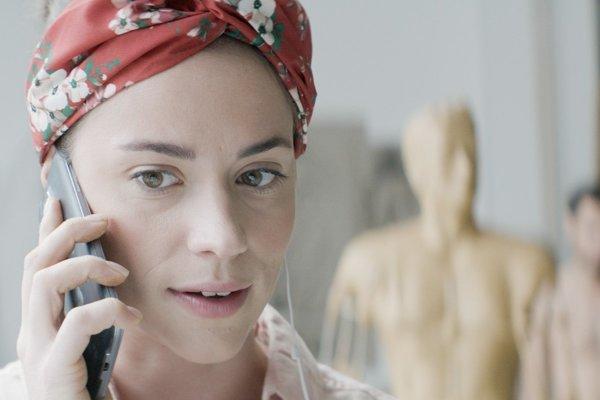 Gabriela Marcinková vo filme Dôverný nepriateľ.
