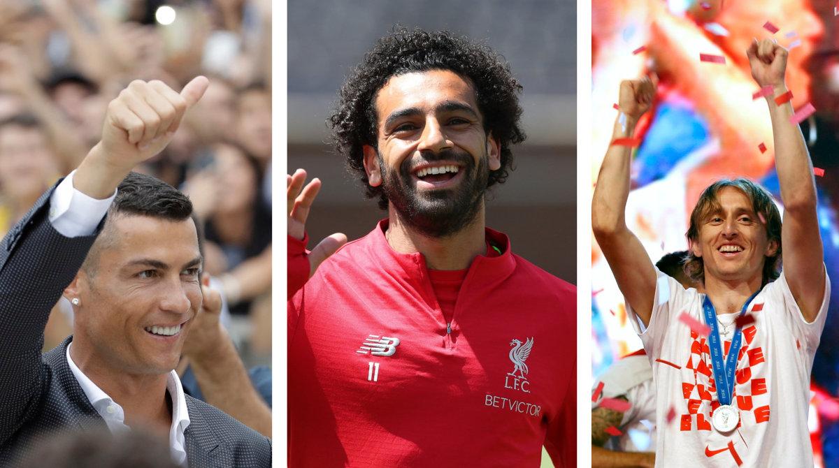 64893fc82e UEFA najlepší futbalista Európy 2018 - finálny zoznam - Šport SME