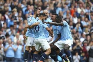 Hráči Manchestru City strelili šesť gólov.