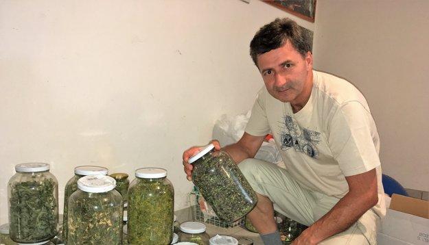 Pomáhali aj bylinky nazbierané vhorách.