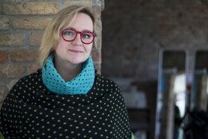 Ako prvá v Starom Meste ohlásila kandidatúru odevná dizajnérka Dana Kleinert.