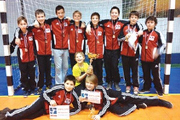Mladší žiaci Topoľčian obsadili konečné druhé miesto.