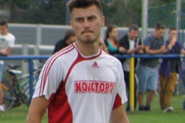 Marián Bazala strelil oba góly domácich.